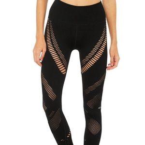 Alo Yoga black high waist leggings